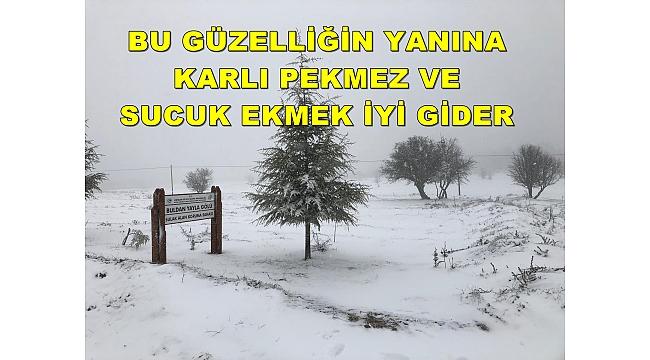 BEKLENEN KAR GELDİ