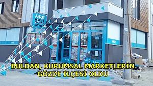 BULDAN'DA BİR MARKET DAHA ŞUBE AÇTI