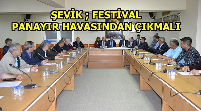 FESTİVAL KOMİTESİ İLK TOPLANTISINI YAPTI