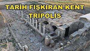TRİPOLİS'TE ANITSAL ÇEŞME BULUNDU
