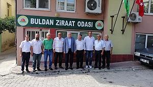 TZOB GENEL BAŞKANI BAYRAKTAR BULDAN'I ZİYARET ETTİ