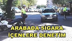 BULDAN'DA ARAÇ İÇİ SİGARA DENETİMLERİ SÜRÜYOR
