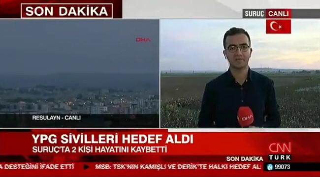 BULDANLI GAZETECİ OPERASYON BÖLGESİNDE