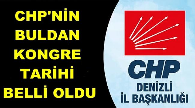 CHP BULDAN KONGREYE GİDİYOR