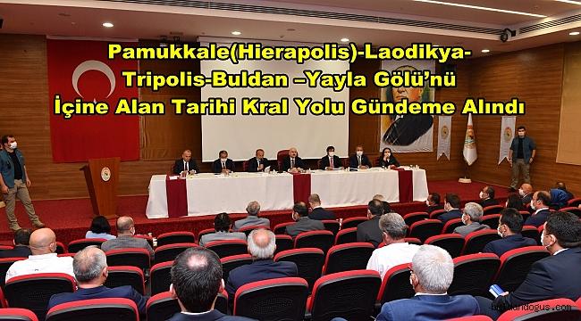 KRAL YOLU PROJESİ BAKAN'A SUNULDU