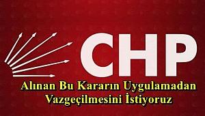 CHP'DEN ANDIMIZ VE DEVLET MADALYASI TEPKİSİ