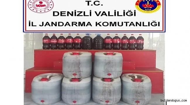 ARAÇTA 200 LİTRE BANDROLSÜZ ALKOL ELE GEÇİRİLDİ
