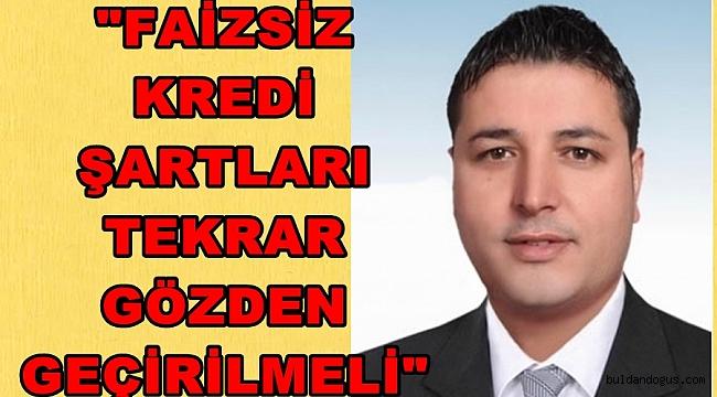 FAİZSİZ KREDİ ŞARTLARINA ESNAF TEPKİ GÖSTERDİ