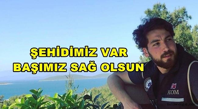 BULDAN'LI POLİS MEMURU BODRUM'DA ŞEHİT DÜŞTÜ