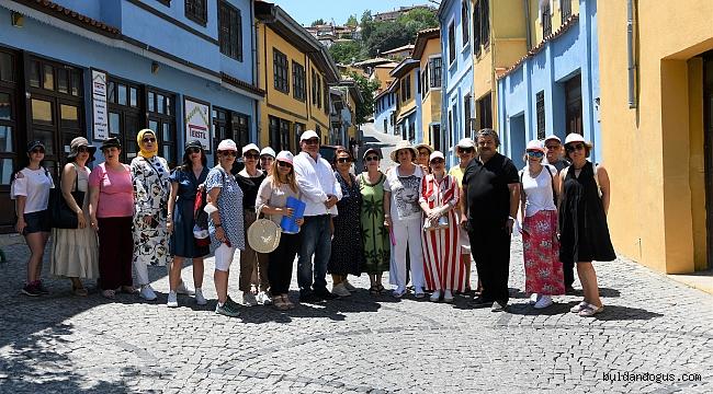 KOSOVALI EĞİTİMCİLER BULDAN'I ZİYARET ETTİ