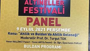 BULDAN'DA AHİLİK VE ALTINELLER FESTİVALİ DÜZENLENECEK