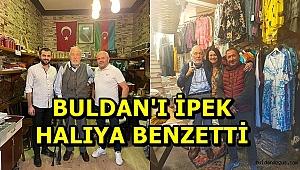 ÜNLÜ TARİHÇİ ORTAYLI BULDAN'I KÖŞESİNE TAŞIDI